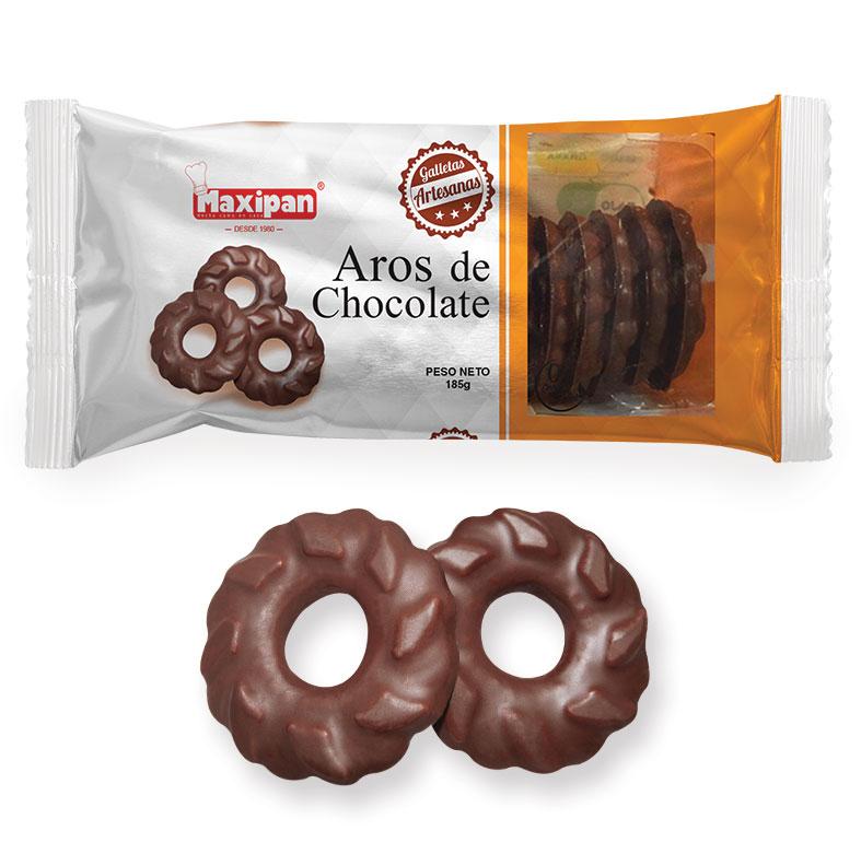 Aros de chocolate