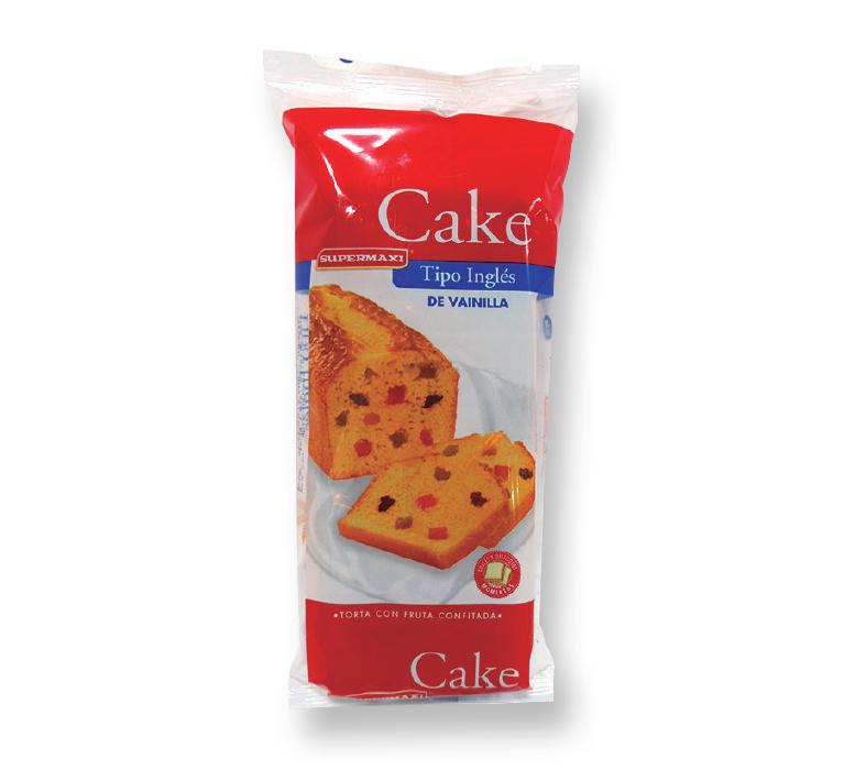 CAKE TIPO INGLÉS