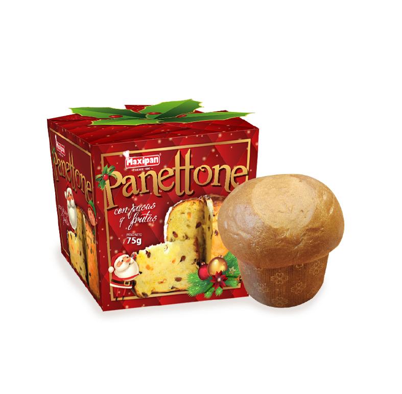 Panettone de frutas individual