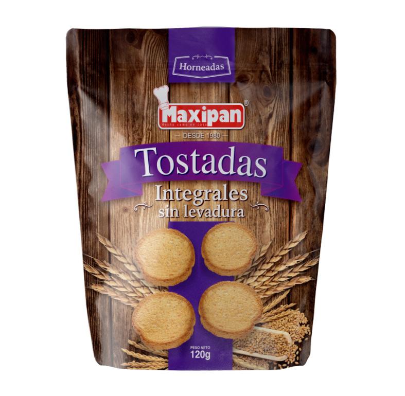 TOSTADAS INTEGRALES SIN LEVADURA